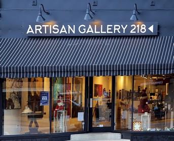 Artisan Gallery 218 storefront