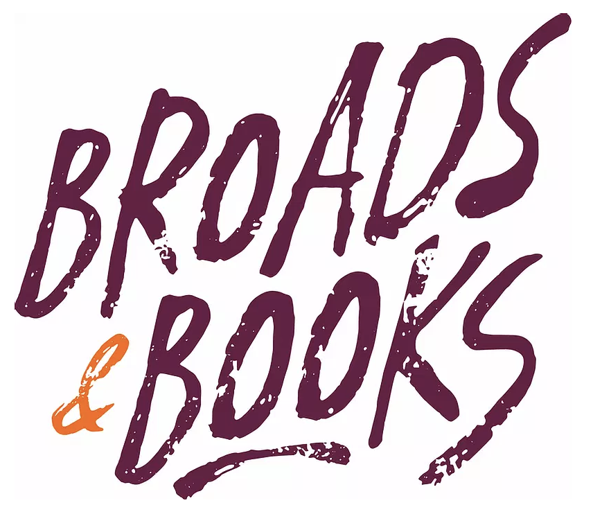 Broads & Books logo