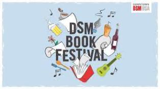 Des Moines Book Festival logo