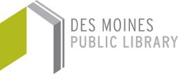 Des Moines Public Library logo